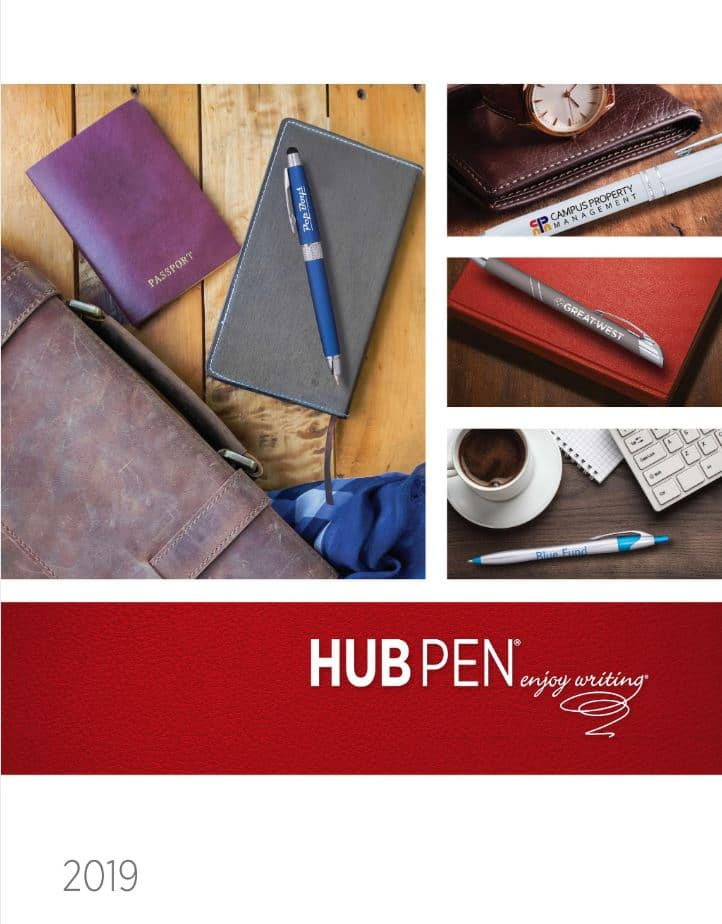 Hub Pen Catalog for Customizable Office Supplies