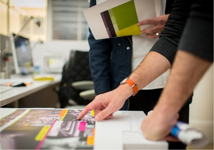 commercial print and graphic design in Cleveland, Ohio